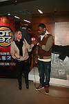 Hot 97's Angie Martinez and Fabolous Attend A Fabolous Way Foundation's 1st Annual 3 Kings Coat Drive wraps-up Press Conference and Autograph Signing In Conjunction With Dr. Jays, NY Cares, and Hot 97 Held at Dr. Jays 34th Street Store, NY   12/1/11