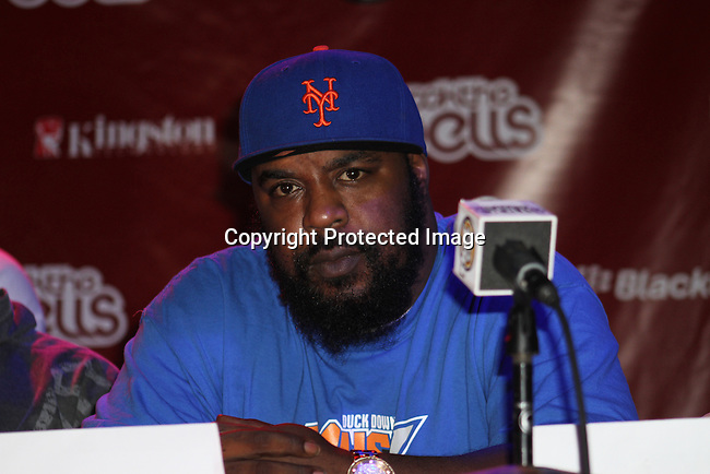 Sean Price Attends Boost Mobile in association with Guerilla Union Presents An East Coast ROCK THE BELLS FESTIVAL SERIES Press Conference and Fan Appreciation Party at Santos Party House, NY D. Salters/WENN 6/13/12