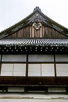 Kyoto: Elevation at Nijo Castle. Photo '81.