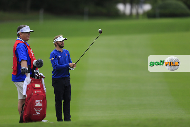 Joost Luiten (NED) on the 2nd during round 3 of the WGC-HSBC Champions, Sheshan International GC, Shanghai, China PR.  29/10/2016<br /> Picture: Golffile   Fran Caffrey<br /> <br /> <br /> All photo usage must carry mandatory copyright credit (&copy; Golffile   Fran Caffrey)