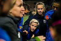 Seattle, Washington -  Saturday April 22, 2017: Megan Rapinoe following a regular season National Women's Soccer League (NWSL) match between the Seattle Reign FC and the Houston Dash at Memorial Stadium.