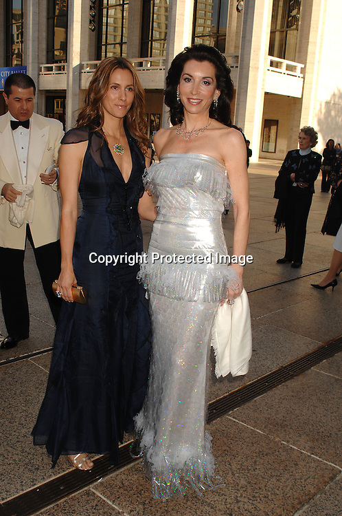 Christina Cuomo and Fe Fendi..arriving at The Metropolitan Opera House for the American Ballet Theatre 67th Annual Gala on May 14, 2007...Robin Platzer, Twin Images......212-935-0770