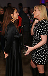 """Marisa Tomei and Jane Krakowski attend MCC Theater's Inaugural All-Star  """"Let's Play! Celebrity Game Night"""" at the Garage on November 03, 2019 in New York City."""
