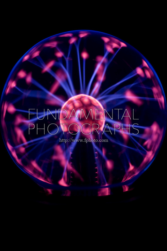 PLASMA LAMP<br /> Point Discharge Caused By Touching Lamp  Surface<br /> High voltage static lamp contains plasma consisting of a mixture of neutral particles, positive ions, and negative electrons. A plasma is a conductor of electricity