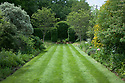 Vegetable Garden borders, looking west, Vann House and Garden, Surrey, mid June.