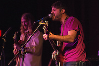"Evan Phillips leads The Whipsaws as they open for The Modern Savage who celebrated the release of their new 5-song album ""Unfazed"" with a first tap concert at the Bear Tooth Theatrepub."