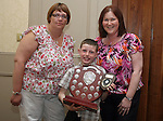 Elizabeth Doyle, Chairperson  and Jane Coyle, Treasurer Drogheda Special Olympics with Junior Athlete of the Year, Cian O'Rourke at the Special Olympics Awards Night in the Westcourt Hotel...Photo NEWSFILE/Jenny Matthews.(Photo credit should read Jenny Matthews/NEWSFILE)....This Picture has been sent you under the condtions enclosed by:.Newsfile Ltd..The Studio,.Millmount Abbey,.Drogheda,.Co Meath..Ireland..Tel: +353(0)41-9871240.Fax: +353(0)41-9871260.GSM: +353(0)86-2500958.email: pictures@newsfile.ie.www.newsfile.ie.FTP: 193.120.102.198.