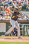 22 March 2015: Pittsburgh Pirates outfielder Gregory Polanco in Spring Training action against the Houston Astros at Osceola County Stadium in Kissimmee, Florida. The Astros defeated the Pirates 14-2 in Grapefruit League play. Mandatory Credit: Ed Wolfstein Photo *** RAW (NEF) Image File Available ***