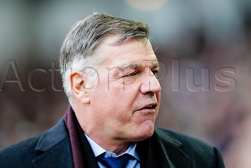 18.01.2015.  London, England. Barclays Premier League. West Ham versus Hull City.  West Ham United manager Sam Allardyce