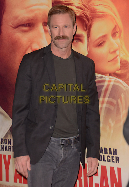 09 November - Los Angeles, Ca - Aaron Eckhart. Arrivals for the Los Angeles premiere of &quot;My All American&quot; held TPacific Theaters at The Grove. <br /> CAP/ADM/BT<br /> &copy;BT/ADM/Capital Pictures
