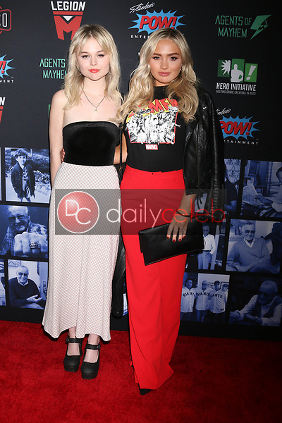 "Emily Alyn Lind, Natalie Alyn Lind<br /> at ""Excelsior! A Celebration of the Amazing, Fantastic, Incredible & Uncanny Life of Stan Lee,"" TCL Chinese Theater, Hollywood, CA 01-30-19<br /> David Edwards/DailyCeleb.com 818-249-4998"