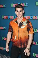 "13 April 2019 - Beverly Hills, California - Nick Jonas. STX Entertainment's ""UglyDolls"" Photo Call  held at The Four Seasons Hotel. Photo Credit: Faye Sadou/AdMedia"