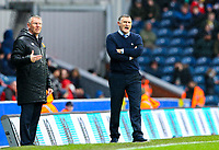 Blackburn Rovers manager Tony Mowbray shouts instructions to his team from the technical area<br /> <br /> Photographer Alex Dodd/CameraSport<br /> <br /> The EFL Sky Bet Championship - Blackburn Rovers v Hull City - Saturday 26th January 2019 - Ewood Park - Blackburn<br /> <br /> World Copyright © 2019 CameraSport. All rights reserved. 43 Linden Ave. Countesthorpe. Leicester. England. LE8 5PG - Tel: +44 (0) 116 277 4147 - admin@camerasport.com - www.camerasport.com