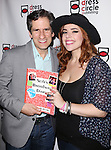 Seth Rudetsky and Alysha Unphress attend the Seth Rudetsky Book Launch Party for 'Seth's Broadway Diary' at Don't Tell Mama Cabaret on October 22, 2014 in New York City.