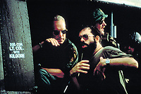 Apocalypse Now (1979) <br /> Behind the scenes photo of Robert Duvall &amp; Francis Ford Coppola<br /> *Filmstill - Editorial Use Only*<br /> CAP/KFS<br /> Image supplied by Capital Pictures