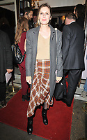 Laura Carmichael at the &quot;Betrayal&quot; play press night, The Harold Pinter Theatre, Panton Street, London, England, UK, on Wednesday 13th March 2019.<br /> CAP/CAN<br /> &copy;CAN/Capital Pictures