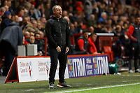 Steve Cooper Head Coach of Swansea City in action during the Sky Bet Championship match between Charlton Athletic and Swansea City at The Valley, London, England, UK. Wednesday 02 October 2019