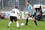 Sandhausen 05.12.2009, 3. Liga SV Sandhausen - FC Ingolstadt 04, Sandhausens Jan Fie&szlig;er gegen Ingolstadts Stefan Leitl<br /> <br /> Foto &copy; Rhein-Neckar-Picture *** Foto ist honorarpflichtig! *** Auf Anfrage in h&ouml;herer Qualit&auml;t/Aufl&ouml;sung. Ver&ouml;ffentlichung ausschliesslich f&uuml;r journalistisch-publizistische Zwecke. Belegexemplar erbeten.
