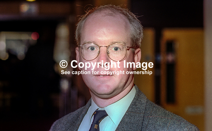 Tim Devlin, MP, Conservative Party, UK, October, 1994, 199410037<br />