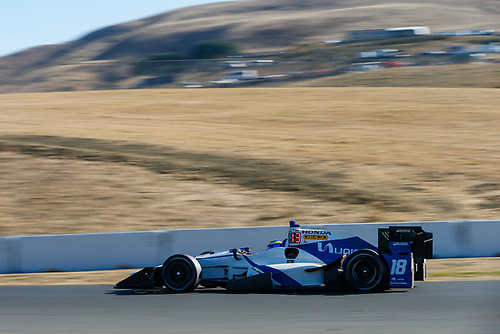 Verizon IndyCar Series<br /> GoPro Grand Prix of Sonoma<br /> Sonoma Raceway, Sonoma, CA USA<br /> Sunday 17 September 2017<br /> Sebastien Bourdais, Dale Coyne Racing Honda<br /> World Copyright: Jake Galstad<br /> LAT Images