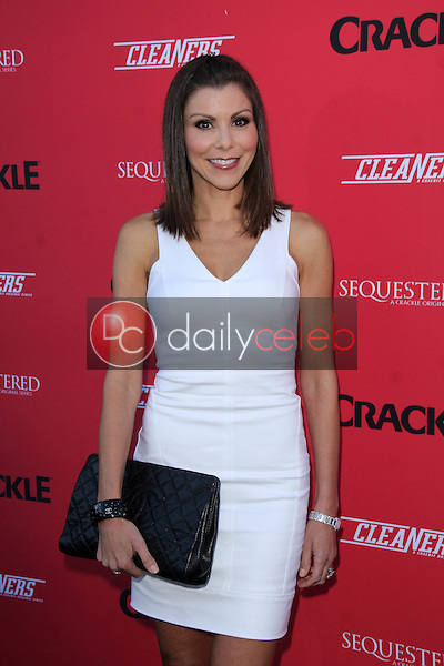 Heather Dubrow<br /> at the Crackle Summer Premieres of 'Sequestered' and 'Cleaners' 1 OAK L.A, West Hollywood, CA 08-14-14<br /> David Edwards/Dailyceleb.com 818-249-4998