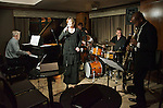 "Jazz vocalist Susie Meissner performs selections from her latest release ""I'm Confessin,"" at the Kitano Hotel in New York City."