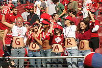 14 October 2006: Student fans during Stanford's 20-7 loss to Arizona during Homecoming at Stanford Stadium in Stanford, CA.