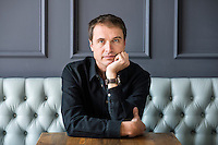 """Kimbal Musk (cq) at The Kitchen in Boulder, Colorado, Friday, March 13, 2015. Musk is CEO of The Kitchen restaurant group, with its flagship in Boulder. It is a """"farm-to-table"""" restaurant serving good food at decent prices. Musk also heads Learning Gardens, a non-profit that puts classroom-size gardens in schools so kids can center a curriculum around growing food.  <br /> <br /> Photo by Matt Nager"""