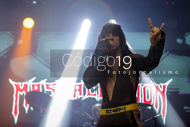 SÃO PAULO, SP 03.05.2019: MASSACRATION-SP - A banda Massacration, se apresentou na noite desta sexta (03), no Tropical Butantã, zona oeste da capital paulista. (Foto: Ale Frata/Codigo19)