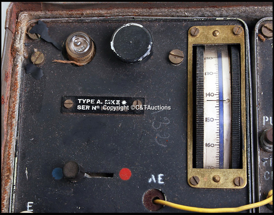 BNPS.co.uk (01202 558833)<br /> Pic: C&TAuctions/BNPS<br /> <br /> An incredibly rare wartime secret suitcase radio used by brave resistance fighters and just like the one featured on BBC's 'Allo Allo! has been discovered after 74 years.<br /> <br /> The transmitter and receiver radio hidden inside a normal travelling case was built by the British for their Special Operations Executive (SOE) operatives to use behind enemy lines in World War II.<br /> <br /> It was bought at a flea marker for just 100 euros by a British collector and is now being sold by C&T Auctions of Rochester, Kent, for £3,000.