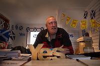 Ritratti di supporter dell'indipendenza della Scozia al referendum del 18 settembre 2014 Portraits of Scotish independence supporters at the 18th September 2014 referendum in Scotland