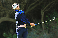 Antoine Rozner (FRA) on the 8th tee during Round 2 of the Challenge Tour Grand Final 2019 at Club de Golf Alcanada, Port d'Alcúdia, Mallorca, Spain on Friday 8th November 2019.<br /> Picture:  Thos Caffrey / Golffile<br /> <br /> All photo usage must carry mandatory copyright credit (© Golffile | Thos Caffrey)