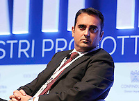 Mario Morgese, Responsabile relazioni industriali Ducati Motors interviene durante il XXIX convegno di Capri per Napoli   dei  Giovani Industriali a Citta della Scienza , 25 Ottobre 2014