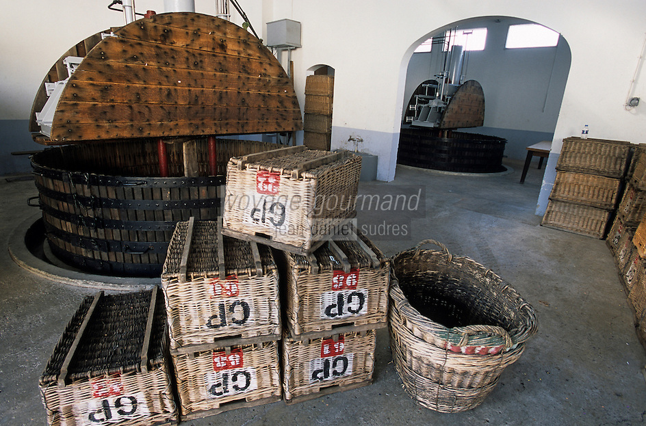 Europe/France/Champagne-Ardenne/51/Marne/Ay: Maison de champagne Goutorbe - Le pressoir