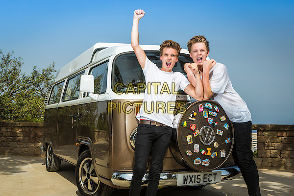 Joe and Caspar Hit the Road (2015)   <br /> Joe Sugg and Caspar Lee <br /> *Filmstill - Editorial Use Only*<br /> CAP/KFS<br /> Image supplied by Capital Pictures