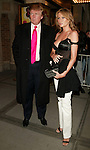 Donald Trump with his wife Melania Knauss Trump<br />Attending the Opening Night Performance for<br />the Broadway Revival,  SWEET CHARITY at the Al Hirschfeld Theatre in New York City.<br />May 4. 2005