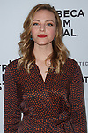 Actress Eloise Mumford arrives at the world premiere of Standing Up, Falling Down at the 2019 Tribeca Film Festival presented by AT&T Thursday, April 25, 2019 at SVA Theater - 333 West 23 Street New York, NY.