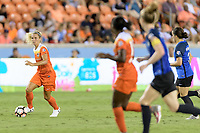 Houston, TX - Sunday August 13, 2017:  Rachel Daly during a regular season National Women's Soccer League (NWSL) match between the Houston Dash and FC Kansas City at BBVA Compass Stadium.