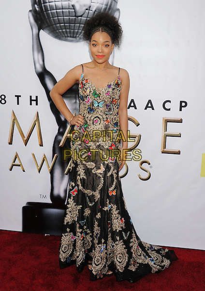 PASADENA, CA - FEBRUARY 11: Actress Ashley Jackson arrives at the 48th NAACP Image Awards at Pasadena Civic Auditorium on February 11, 2017 in Pasadena, California.<br /> CAP/ROT/TM<br /> &copy;TM/ROT/Capital Pictures