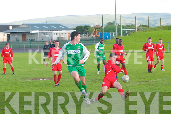 Kerry v Lifford United in.the Eircom Soccer League meeting on Saturday at.Mounthawk Park, Tralee.