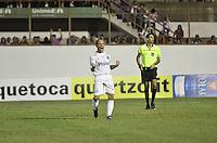 MOGI MIRIM, SP, 04 de MAIO 2013 - Leo comemora gol em penaltes durante a Semifinal Mogi Mirim x Santos no Estadio Romildo Vitor Gomes Ferreira (Romildao) em Mogi Mirim  (FOTO: ADRIANO LIMA / BRAZIL PHOTO PRESS).