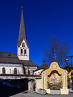 Pfarrkirche Mariä Himmelfahrt in Imst, Tirol, Österreich, Europa<br /> parish church of the Assumption of Mary, Imst, Tyrol, Austria, Europe