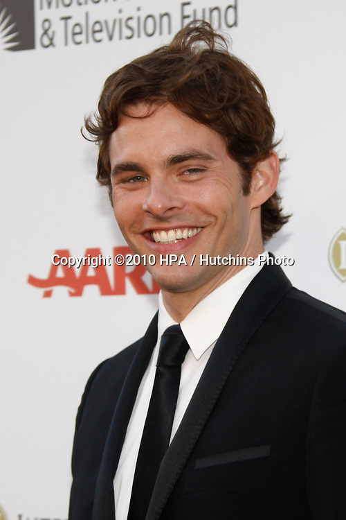 """James Marsden.arrives at """"A Fine Romance"""" -  2010.Sony Pictures Studios.Culver City, CA.May 1, 2010.©2010 HPA / Hutchins Photo..."""
