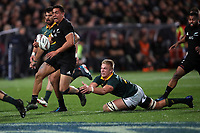 Anton Lienert-Brown in action during the Rugby Championship match between the New Zealand All Blacks and South Africa Springboks at QBE Stadium in Albany, Auckland, New Zealand on Saturday, 16 September 2017. Photo: Shane Wenzlick / lintottphoto.co.nz