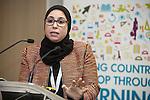 """BRUSSELS - BELGIUM - 23 November 2016 -- European Training Foundation (ETF) Conference on """"GETTING ORGANISED FOR BETTER QUALIFICATIONS"""". -- Amina El Alam, Ministère de l'Education Nationale et de la Formation Professionnelle Chef de Division des Programmes et de la Coordination Pédagogique (Morocco). -- PHOTO: Juha ROININEN / EUP-IMAGES"""