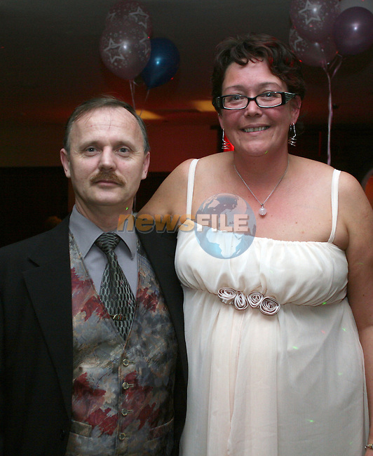 Rachel Kennedy with her husband at her 40th in Nano Reids...Photo NEWSFILE/Jenny Matthews.(Photo credit should read Jenny Matthews/NEWSFILE)....This Picture has been sent you under the condtions enclosed by:.Newsfile Ltd..The Studio,.Millmount Abbey,.Drogheda,.Co Meath..Ireland..Tel: +353(0)41-9871240.Fax: +353(0)41-9871260.GSM: +353(0)86-2500958.email: pictures@newsfile.ie.www.newsfile.ie.FTP: 193.120.102.198.