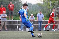 Johann Aumann (Biebesheim) - Büttelborn 27.08.2017: SKV Büttelborn vs. SV Olympia Biebesheim