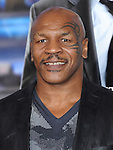 Mike Tyson attends The L.A. Premiere of Summit Entertainment's DRAFT DAY held at The Regency Village Theatre in Westwood, California on April 07,2014                                                                               © 2014 Hollywood Press Agency