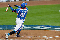 21 March 2009: #52 Tae Kyun Kim of Korea hits an homerun during the 2009 World Baseball Classic semifinal game at Dodger Stadium in Los Angeles, California, USA. Korea wins 10-2 over Venezuela.
