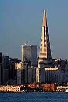 Transamerica building from Pier 9, San Francisco, California